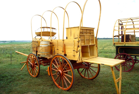 Chuck wagon camping trailer autos post for Covered wagon plans